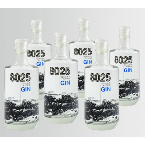 8025 Genuine Alpine Gin 0,5 l