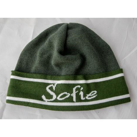 Mütze Sofie grün