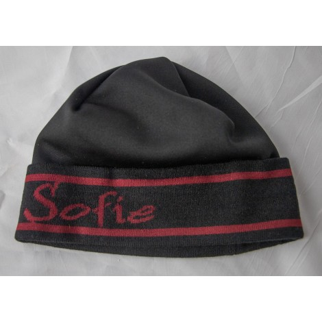 Sofie Hat black/red